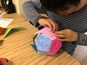 折り紙で正十二面体
