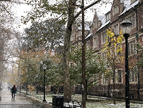 フィラデルフィアで雪-2