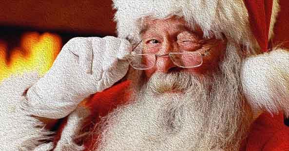 サンタさんはどうやってくるのか?