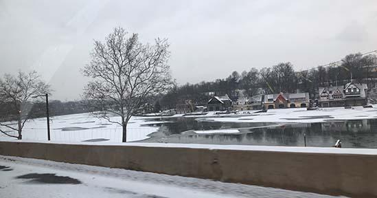 フィラデルフィア、冬