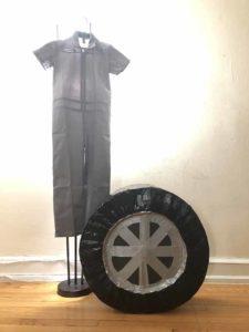 タイヤとコスチューム