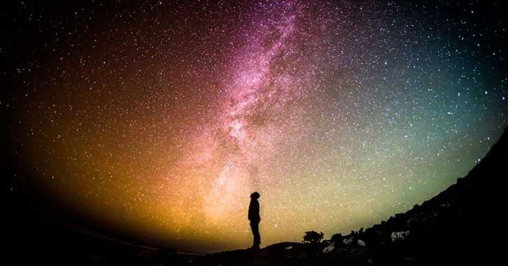 宙に思いを馳せる