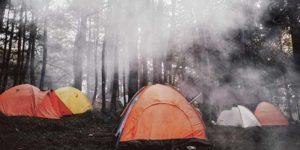 自宅キャンプ