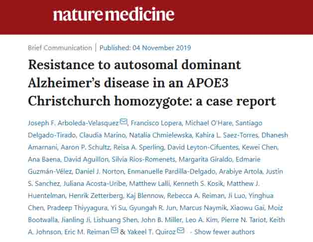 Nature Medicine 2019