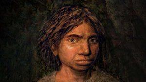 デニソワ人の少女の画像