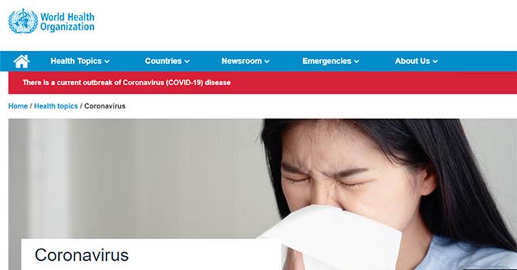 WHO-coronavirus