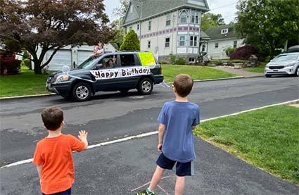 birthday parade