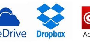 OneDrive, Dropbox, Creative Cloudの保存先を別ドライブに移動