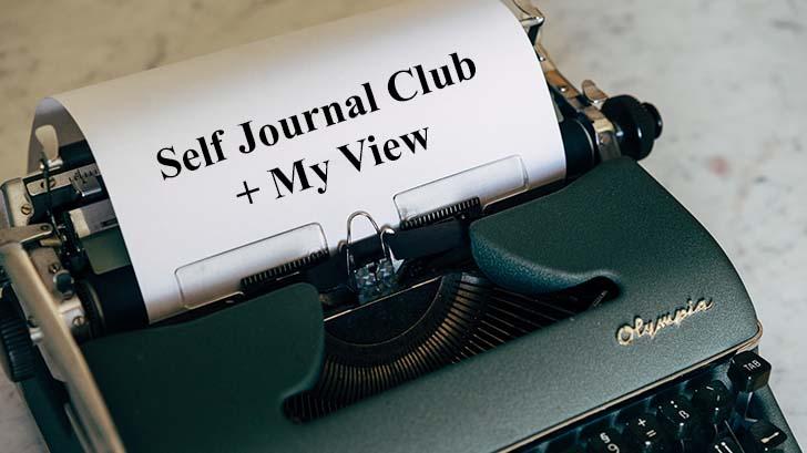 Self Journal Club-MyView