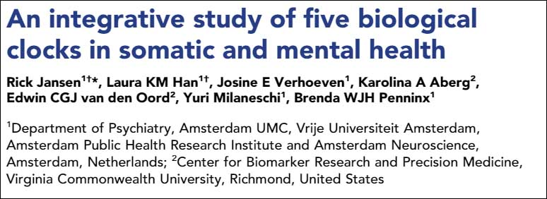 an-integrative-study-of-five-biological-clocks-in-somatic-and-mental-health
