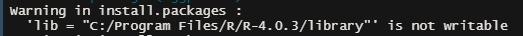 install error 1