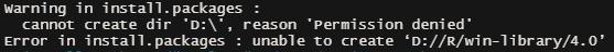 install error 2