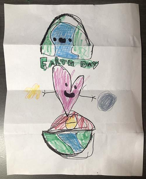 次男作: Earth Day