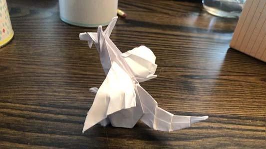 折り紙復活?
