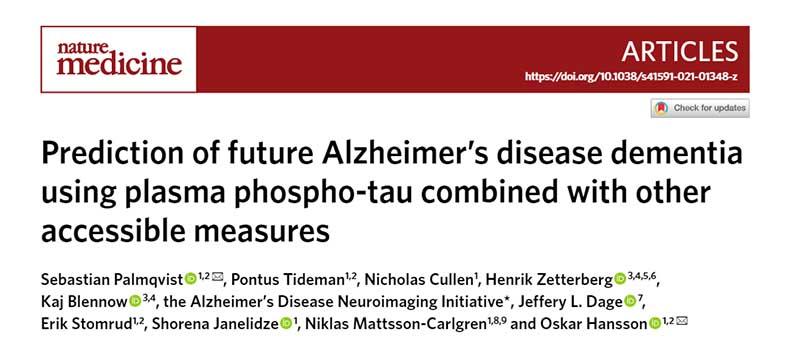 Prediction of Future Alzheimer