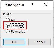 フォーマットを選択